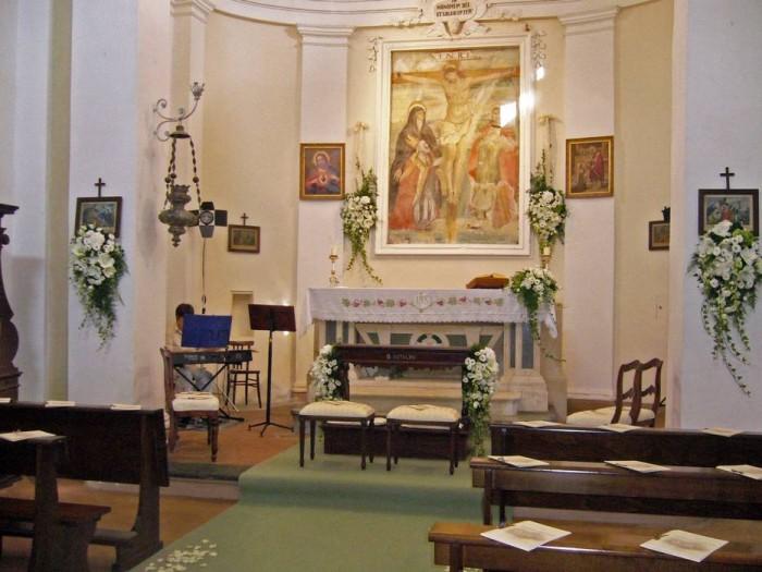 Interno della chiesa di San Biagio