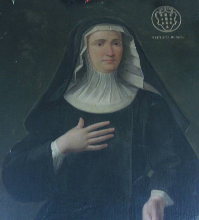 Portrait of St. Camilla Battista da Varano in the gallery