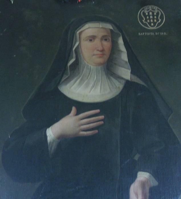 Portrait of St. Camilla Battista da Varano in the gallery