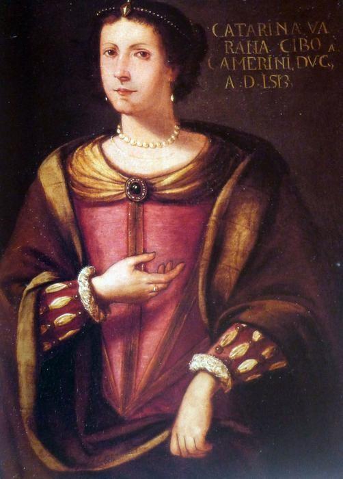 Caterina Cybo, wife of duke Giovanni Maria da Varano