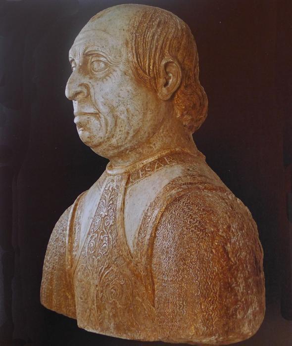 Giulio Cesare da Varano, duke of Camerino from 1464 to 1502, when he was killed by Cesare Borgia