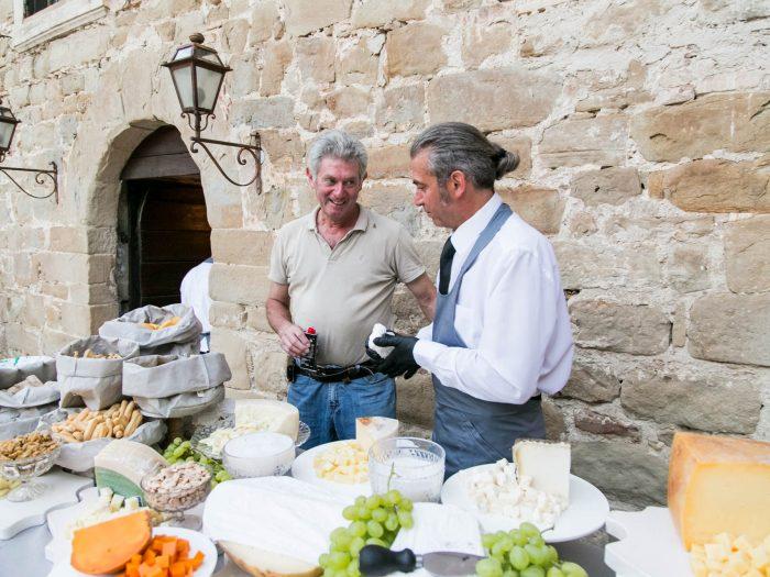 Buffet dei formaggi